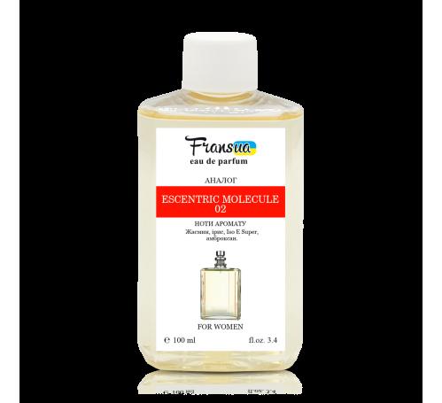 """Парфюмированная вода ТМ """"Fransua"""" F120 аналог Escent. Molecule 02, 100 мл"""